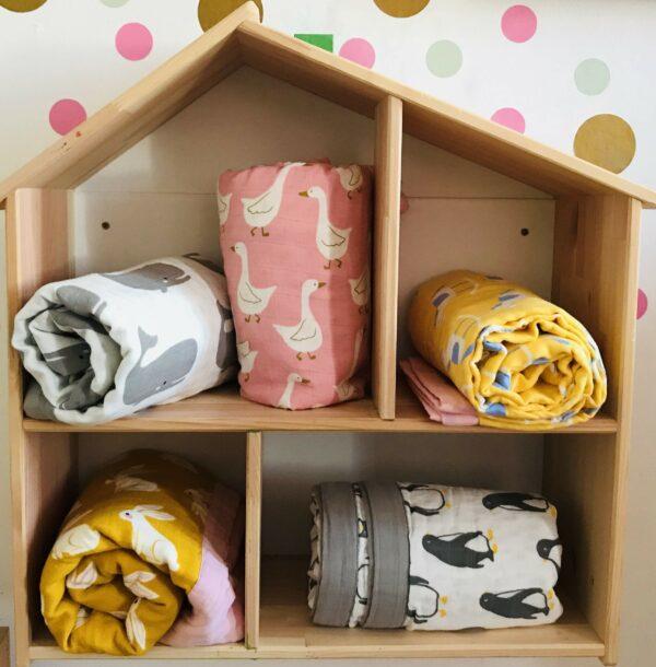Dětské přikrývky organická bavlna